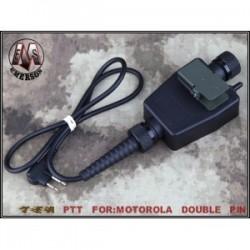 EMERSON CONECTOR TEA PTT MOTOROLA 2 PIN