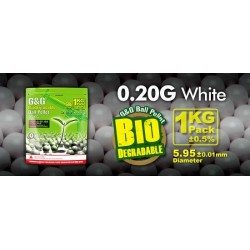G&G 0.20g 1KG / bag Bola biodegradable