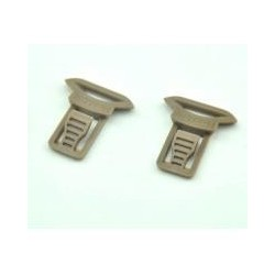 CLIPS SET TAN FMA GOGGLE SWIVEL