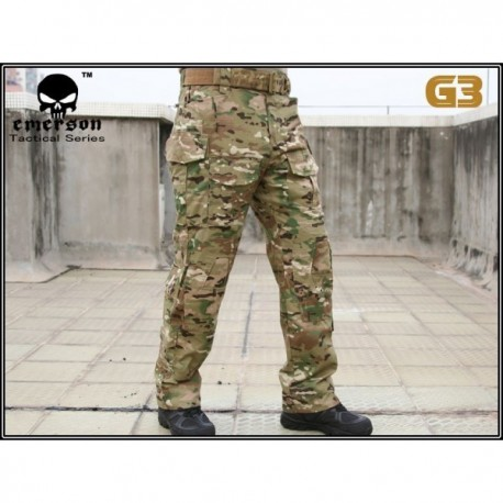 Emerson Pantalones Cp Multicam Gen 3 Talla Xxl 38