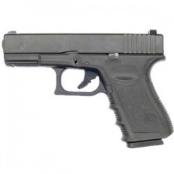 KJW GLOK G23 GAS BLOWBACK BLACK METAL