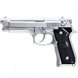 KJW BERETTA 92 KM9 METAL GAS BLOWBACK SILVER