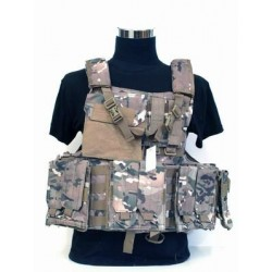 Chaleco táctico C.I.R.A.S. DELUXE Multicam