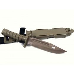 Bayoneta M9 de goma TAN