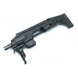 Kit Carbine GLOCK G17-G18 -G26 negro APS