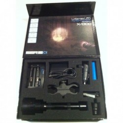 LINTERNA LED LIGHT X-1300 KIT DE CAZA RECARGABLE