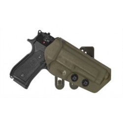FUNDAS DE POLIMERO FAST MOLLE PARA Walther P99 negro
