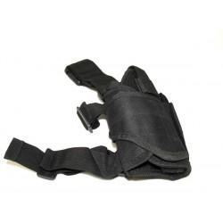 Pistolera tornado para pierna Negro SUMINTROS AIRSOFT