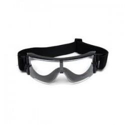 Gafa proteccion X800 con 3 lentes negro SUMINISTROS AIRSOFT