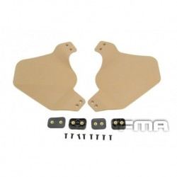 PROTECTORES CASCO side cover for fast helmet rail Tan