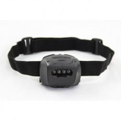 EMERSON Linterna Frontal 4 leds Negra con filtro de color y montura para Casco