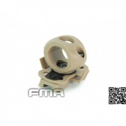 FMA helmet flashlight folder TAN