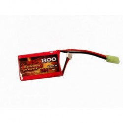 BP 11.1v 1300mah 20c mini corto