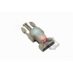 Side Release Buckle Strobe Light variety of light tb900 red