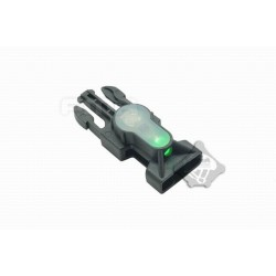 Side Release Buckle Strobe Light variety of light tb901 green