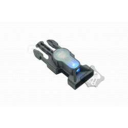 Side Release Buckle Strobe Light variety of light tb901 blue