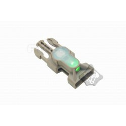 Side Release Buckle Strobe Light variety of light tb900 green