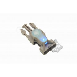 Side Release Buckle Strobe Light variety of light tb900 blue