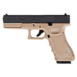 WE GLOCK E17 GEN4 GAS BLOWBACK /TAN