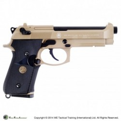 WE M92 A1 FULL METAL -TAN