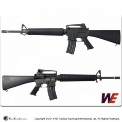 WE M16A3 Open Bolt GBB