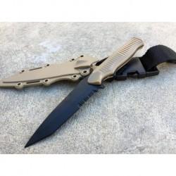 Cuchillo estilo BC141 dummy tan