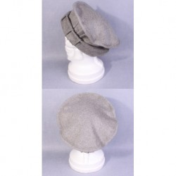 Afghan Pakol MILITARY Wool Hat ( Grey )