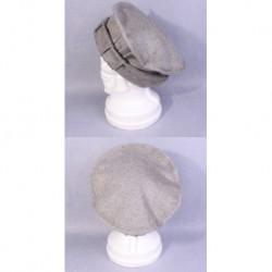 Afghan Pakol MILITARY Wool Hat ( Grey )