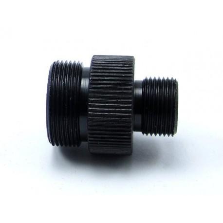 Adaptador para silenciador well MB01,04,05,06,13 L96 -14MM