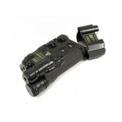 Caja de bateria estilo AN/PEQ-16 negro