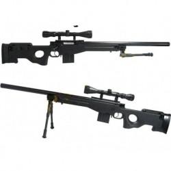 WELL L96 AWP(S) MB4401D +VISOR Y BIPODE - Black 500FPS