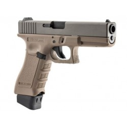 STARK ARMS GLOCK S17 CO2 DARK EARTH CNC TITANIUM