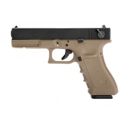 STARK ARMS GLOCK S18C TAN GAS SEMI-AUTO