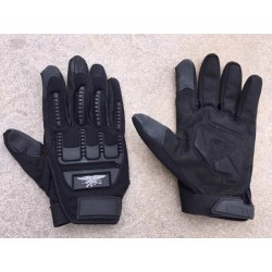Guantes tacticos SEAL NEGRO M SUMINISTROS AIRSOFT
