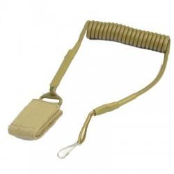 CORREA Cordon elastico antiperdida pistola TAN