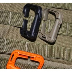 Soporte Molle Rectangular Tan 4pc