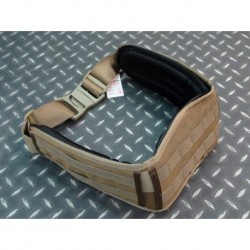 Belt carrier tan SUMINISTROS AIRSOFT