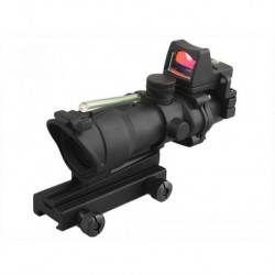 ACOG 4X32 w/Ruggedized Reflex Red Dot