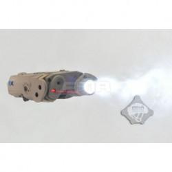 FMA AN/PEQ-15 laser rojo con linterna tan TB0072