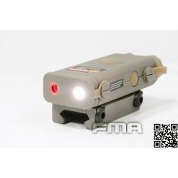 FMA PRO-LAS-PEQ10 red laser tan