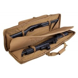 FUNDA TRANSPORTE DOBLE RIFLE 107CM TAN DELTA TACTICS