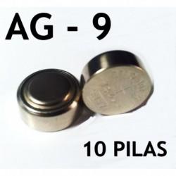 Pila boton AG9 10 unidades