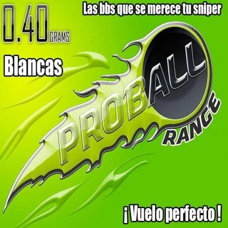 BOLAS SNIPER Proball 0.40grs BLANCA