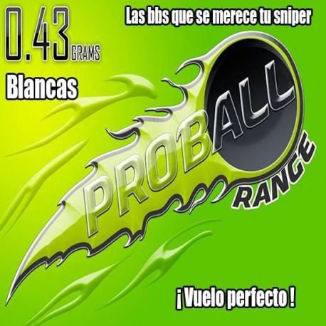 BOLAS SNIPER Proball 0.43grs BLANCA