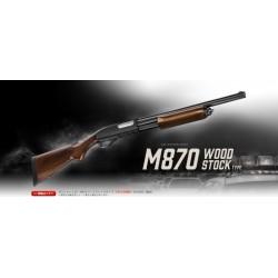 ESCOPETAS M870 Wood Stock Type Tokyo Marui