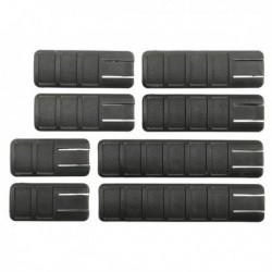 Cubrerail TangDown 8 piezas negro