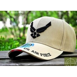 GORRA AIR FORCE Seal tan