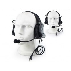 CASCOS Ztactical Comt II Headset negro ECONOMICOS