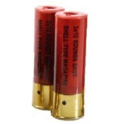 cartuchos escopeta airsoft 2uds 30bb