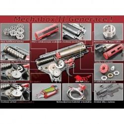 Gear Box Completo m4 v2 m150 cableado delantero